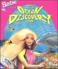 Discovery PC CD marine biologist underwater animals fish girls game