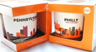 Dunkin Donuts Destinations City Coffee Mugs Philadelphia