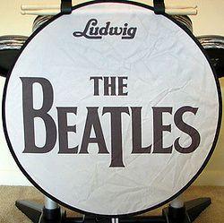 Beatles Rock Band Foot Bass Kick Drum Shade   PS3, Xbox, Wii   Brand
