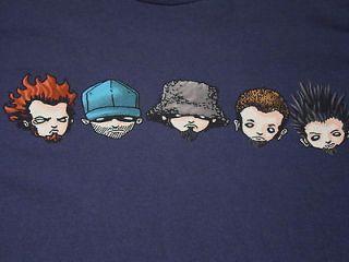 Limp Bizkit DUVAL COUNTY #3 SCHOOL BUS Size XL s/s T Shirt Concert