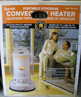 New Portable Dyna Glo Kerosene Heater Model RMC 95 C4 Round Shape up