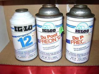 14 OUNCE CANS OF R12 Refrigerant Freon Dichlorodiflou​romethane