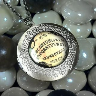 Traditional Ouija Board Antique Bronze Vintage Keepsake Locket