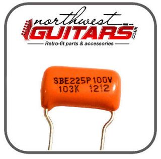 Sprague Orange Drop Capacitor .01uf for Strat Tele Gibson Etc