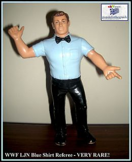 WWF LJN blue shirt referee wrestling figure WWE tag team AWA WCW NWA