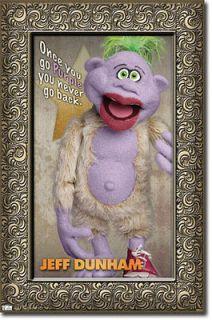 Jeff Dunham New PEANUT Dats Good Plush Throw Blanket