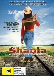 SHANIA DVD NEW..THE SHANIA TWAIN TRUE STORY COUNTRY SINGING FEMALE