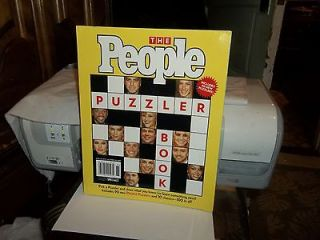 THE PEOPLE PUZZLER BOOK KNEET 90 PEOPLE+ 10 CLASSIC GREAT PICTURES
