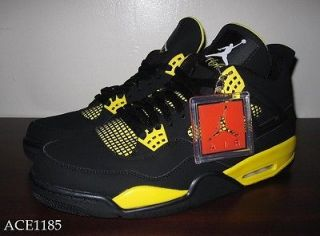 DS Nike Air Jordan Retro IV 4 THUNDER 2012 SZ 11 BRED xi cavs white