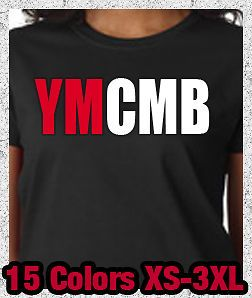 New YMCMB Young Money Cash Money Lil Wayne Weezy Drake   Ladies Tee