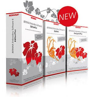 Bernina Editor Plus Version 6 Software, Worldwide Delivery