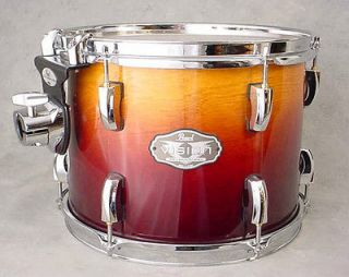 PEARL VISION BIRCH AMBER FADE 12 HANGING SUSPENDED RACK TOM DRUM