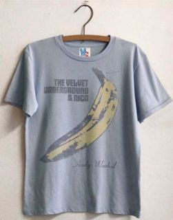 New Authentic Junk Food The Velvet Underground Warhol Banana Toddler T