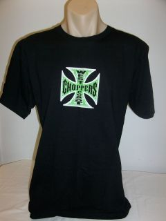 Jesse James WEST COAST CHOPPERS   Mens S/S TWICE THE QUALITY T Shirt