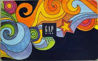 GAP Gift Card Gap Kids COLLECTIBLE NO VALUE