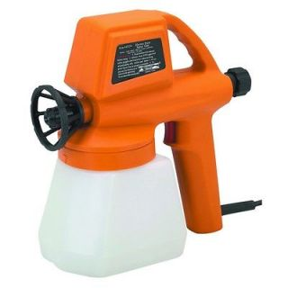 Electric Paint Spray Gun makes general purpose painting jobs fast and
