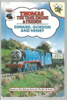 EDWARD, GORDON & HENRY THOMAS THE TANK ENGINE & FRIENDS #5 BUZZ BOOKS