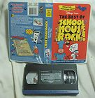 The Best of Schoolhouse Rock (VHS, 2002), Free Tracking, Great