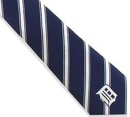Detroit Tigers MLB Woven Polyester #1 Mens Neck Tie by Eagles Wings