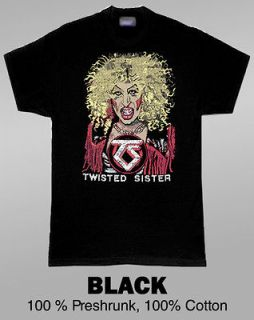 Twisted Sister Rock Music T Shirt