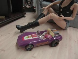 Miniature Barbie Car for your Barbie Dolls Diorama Accessory