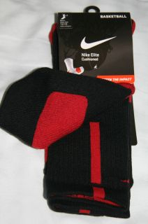 red black elite socks in Clothing, Shoes & Accessories