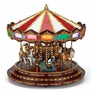 2012 ★ Mr Christmas 16 Royal Marquee Grand Carousel 100 Light 40