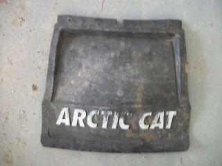 Mountain king cat 800 900 1M black long snowflap snow mud flap #T69