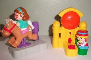 Fisher Price Little People Toys McDonalds Maggie Horse Eddie Hammer