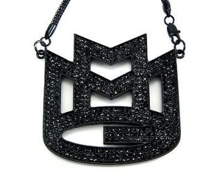 ICED OUT RICK ROSS MMG MAYBACH MUSIC GROUP PENDANT & 36 CHAIN