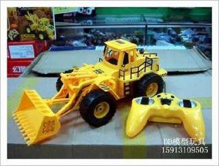 Electric remote control bulldozer toy cars truck remote control