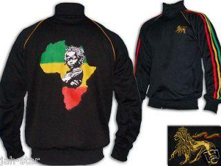 Rasta Reggae JACKET Jumper Africa Baby Roots Lion Of Judah Bob Marley