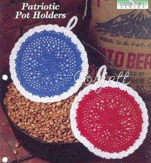 CROCHET THREAD POTHOLDER PATTERNS - Crochet Club