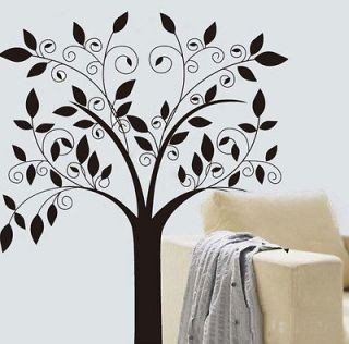Cute Owl Branch Tree Wall Sticker Decals Decor Wallpaper PVC