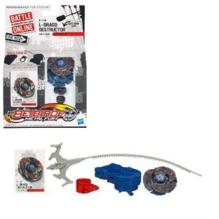 Beyblade Metal Fury L Drago Destructor Attack Top LW105LF B148