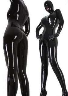 Latex/rubber/catsuit unique/Unisex/Party/suit/Sexy ladies tights/mask
