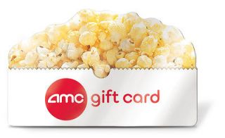 AMC THEATER GIFT CARD $60.55