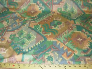SOUTHWEST IKAT~COTTON DRAPERY UPHOLSTERY FABRIC~FABRIC FOR LESS~BTY~