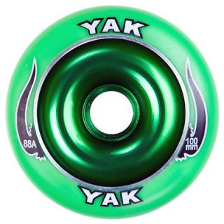 YAK SCAT Green 100mm Wheel Razor Ultra Pro Scooters
