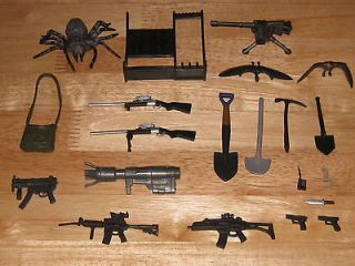 PRIMEVAL   ACCESSORIES FOR 5 ACTION FIGURES   GUNS / WEAPONS