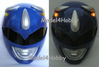 Lighten up Mighty Morphin Power Rangers BLUE RANGER 1/1 Scale Helmet