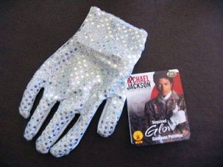 Michael Jackson Sequined Glove New Officially Licensed Cosplay