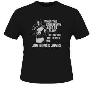 Jon Bones Jones MMA Ultimate Fighter T Shirt