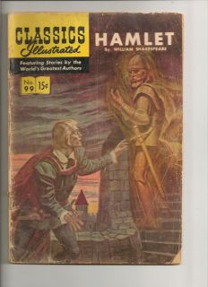 CLASSICS ILLUSTRATED HAMLET #99 (HRN 158) 4th Edition By William