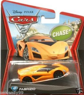 Newly listed Disney Pixar Cars 2 Fabrizio Chase Car # 47 in Package