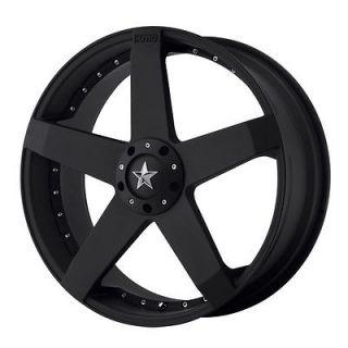 18x8 KMC Rockstar Black Wheel/Rim(s) 5x100 5 100 18 8