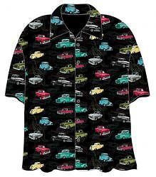 Newly listed CHEVY CLASSIC TRUCKS CAMP SHIRT Corvette SS Muscle Car