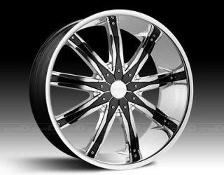 28 inch Dcenti DW29 Wheels rims&Tires fit Chevy Cadillac GMC Nissan