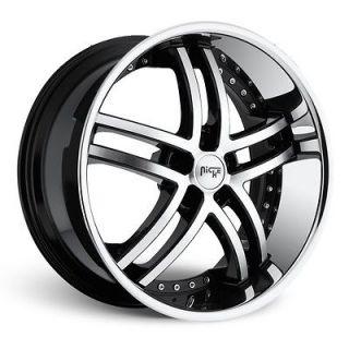 22 Niche Essence Wheels NICHE Wheel SET Package RIMS (STAGGERED 20 24