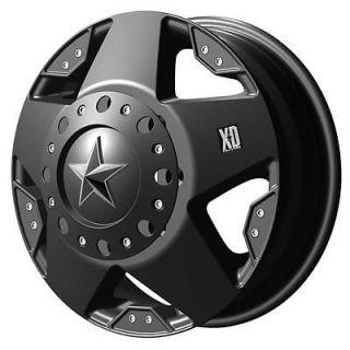 XD775 Rockstar Dually Matte Black Wheel 16x6 8x170mm BC 77566087799